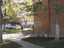 Mark Havnes | The Salt Lake Tribune More than 220 students have a week to move out of the Juniper Hall dormitory on the campus of Southern Utah University in Cedar City after the heating system failed.  Oct. 31, 2011