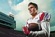 Chris Detrick  |  The Salt Lake Tribune Griff McNabb poses for a portrait at Rice-Eccles Stadium Tuesday November 1, 2011.