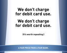 Courtesy image Banks are fighting to retain customers and attract new ones amid a decidedly anti big-bank environment.