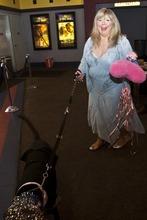 Chris Detrick | The Salt Lake Tribune  Joyce McKinney arrives at the Broadway Centre Cinemas after a screening of