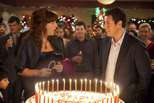 Adam Sandler plays dual roles, as an advertising exec and his twin sister, in