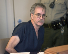 Al Hartmann  |  The Salt Lake Tribune Dale  Beckering, charged with aggravated abuse of a disabled adult for the March death of 22-year-old Christina Harms, takes a seat in Judge Leon Dever's Third District Court in Salt Lake City Friday, June 3, for a preliminary hearing.