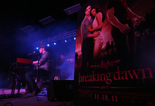 Kim Raff  |  The Salt Lake Tribune Sleeping at Last performs during an event featuring actors from the