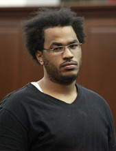Jefferson Siegel  |  The Associated Press Jose Pimentel is arraigned at Manhattan criminal court, Sunday, Nov. 20, 2011, in New York. Pimentel, an