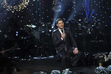 Michael Buble pictured in