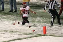 Chris Detrick  |  The Salt Lake Tribune Utah Utes running back John White IV (15) runs for a touchdown during the second half of the game at Martin Stadium at Washington State University Saturday November 19, 2011. Utah defeated Washington State 30-27 in overtime.
