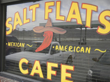 The Salt Flats Cafe east of Wendover offers great Mexican food at surprisingly low prices. (Tom Wharton Photo).