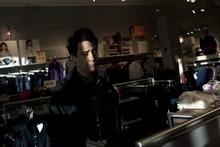 Chris Detrick     The Salt Lake Tribune Salt Lake Tribune reporter  Ben Fulton shops at H&M at Fashion Place Mall.