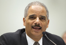 AP File Photo Attorney General Eric Holder says it is unconstitutional for states to set their own immigration policies -- asserting that is a federal responsibility.