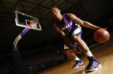 Francisco Kjolseth  |  The Salt Lake Tribune Weber State guard Damian Lillard is the state's best college basketball player, who missed last season with a foot injury.