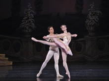 Tribune file photo Ballet West Principal Artists Christiana Bennett and Christopher Ruud as The Sugar Plum Fairy and her Cavalier in Willam Christensen's