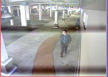Surveillance footage of suspect who tried to rob a Subway restaurant in the Avenues neighborhood Dec. 2, according to police. Courtesy Salt Lake City Police Department