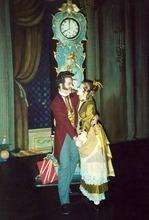 Ballet West dancers Melanie Watts and Peter Christie in 1993.  Courtesy Melanie Watts Robbins