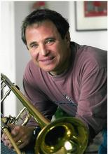 Utah Symphony trombonist Larry Zalkind.