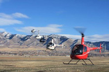 Mountain Ridge Helicopters in Logan is offering aerials flights to see the Christmas lights. Courtesy photo