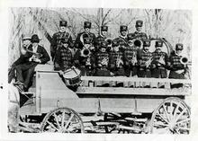Tribune file photo  Morgan Brass band, 1902.