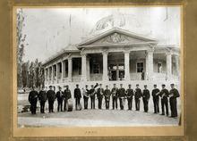 Tribune file photo  The Salt Palace Band, 1900.
