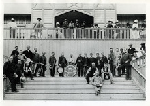Tribune file photo  This undated photo shows the Walker Opera House Band.