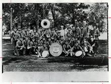 Tribune file photo  The Salt Lake City Police band at the 1927 Utah State Firemen's Convention in Springville, Utah.