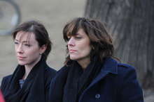 |  courtesy New Real Films Molly Parker (left) and Tracy Wright play former rock bandmates who have an uneasy reunion in