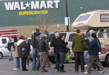 occupy protesters target west coast ports walmart in utah video the salt lake tribune
