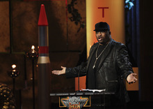 In this Sept. 10, 2011 photo, comedian Patrice O'Neal performs during the