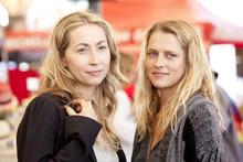Felicity Price (left) and Teresa Palmer star in the Australian thriller