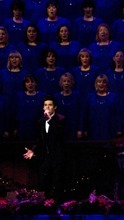 Djamila Grossman     The Salt Lake Tribune  David Archuleta performs with the Mormon Tabernacle Choir for their annual Christmas concert at the LDS Conference Center in Salt Lake City, Friday, Dec. 17, 2010.