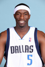 FILE - In this Oct. 7, 2009, file photo, Dallas Mavericks forward Josh Howard (5) poses during media day in Dallas. Howard is out indefinitely to continue his recovery from surgery on his left ankle. (AP Photo/Tim Sharp, File)