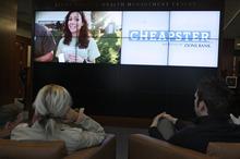 Francisco Kjolseth  |  The Salt Lake Tribune People watch the last episode of