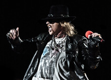 Courtesy photo Guns N' Roses will perform at the Maverik Center on Dec. 13.