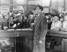Courtesy photo George Bailey (Jimmy Stewart, foreground) deals with a crisis in his building-and-loan business in the 1946 holiday classic