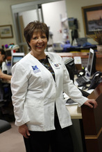 Francisco Kjolseth  |  The Salt Lake Tribune People who came to Utah primarily to ski, never left and have become valuable contributing members of our society. Joan Arata is the outpatient clinic manager at the Huntsman Cancer Center.