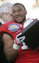 Trent Nelson  |  The Salt Lake Tribune Utah running back John White was named the game's MVP. The University of Utah faces Georgia Tech, college football at the Sun Bowl in El Paso, Texas, Saturday, December 31, 2011.
