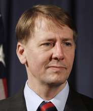 Associated Press file photo President Barack Obama on Wednesday named Richard Cordray the nation's chief consumer watchdog, despite vocal Republican opposition.