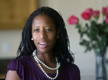 Tribune File Photo Saratoga Springs Mayor Mia Love is jumping into the 4th Congressional District. She promises to be a budget-cutter if elected.