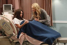 Chelsea Handler as Sloan, left, and Laura Prepon as Chelsea in a scene from