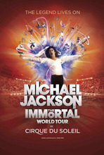 Michael Jackson -- The Immortal World Tour.