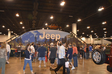Courtesy photo Camp Jeep with an interactive test track is one of the featured events at the International Auto Expo this weekend at South Towne Expo Center.