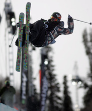 Jim Urquhart  |  The Salt Lake Tribune  Canada's Sarah Burke won the gold at the women's ski halfpipe finals  at Snowbasin. The event was part of the Winter Dew Tour. Snowbasin is the only stop where women were able to compete.