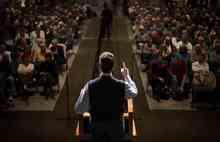 Republican presidential candidate, former Pennsylvania Sen. Rick Santorum speaks during a town hall meeting, Thursday, Jan. 12, 2012, in Sun City, S.C. (AP Photo/David Goldman)