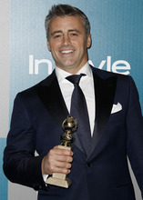 Matt LeBlanc arrives at the 2012 Warner Bros. and InStyle Golden Globe After Party at the Beverly Hilton in Los Angeles. on Sunday, Jan. 15, 2012. (AP Photo/Matt Sayles)