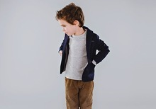 Heather Nan  |  courtesy CuldesacKid.com One of the looks designed by Hayley Parker-Barker for her Culdesac line of clothes for boys.