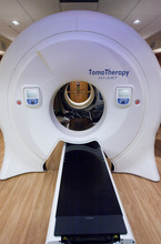 Rick Egan  | The Salt Lake Tribune  Gamma West Cancer Services' TomoTherapy machine is on display during an open house at St. Mark's Hospital Friday to showcase new image-guided radiation therapy technology.