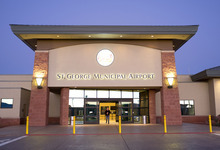 Trent Nelson  |  The Salt Lake Tribune The St. George Municipal Airport in St. George, Utah, Saturday, January 14, 2012.