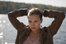 Elizabeth Olsen plays Martha, a troubled young woman on the run from a cult, in the drama