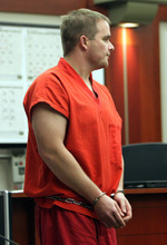 Gary Winston Fotheringham during a December arraignment hearing for alleged sex abuse and voyeurism at the University of Utah.