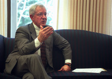 Elder Marlin Jensen of the LDS Church's First Quorum of Seventy has been replaced as the church's historian and will become an emeritus general authority in October 2012.