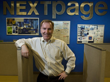 File photo by Chris Detrick | The Salt Lake Tribune Darren Lee is CEO of NextPage Inc. of Draper. The company was recently bought by Proofpoint of California.