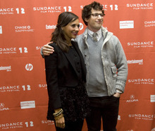 Kim Raff  The Salt Lake Tribune Cast members (from left)Rashida Jones and Andy Samberg premiere of
